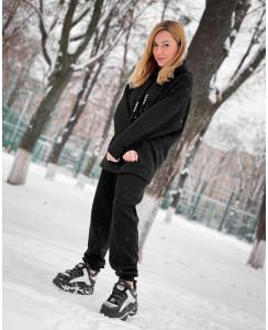 Женский спортивный костюм на флисе №2
