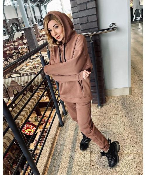 Женский спортивный костюм на флисе №4