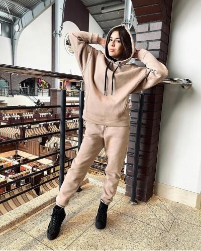 Женский спортивный костюм на флисе №3