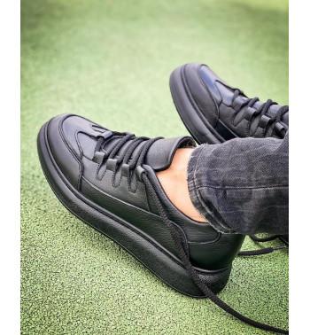 Мужские черные кроссовки Black