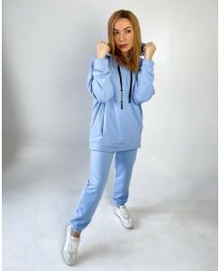 Женский спортивный костюм №3 (голубой)