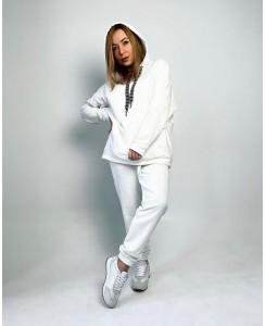 Женский спортивный костюм №1 (белый)