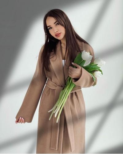 Женское пальто из Итальянского кашемира