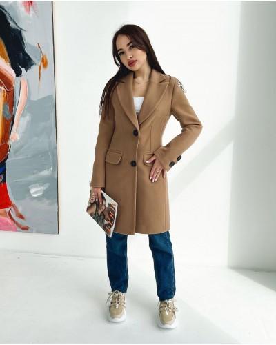 Женское пальто из Итальянского кашемира Д357