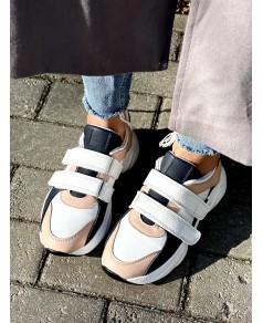 Цветные женские кроссовки 1011-02