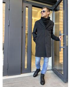 Мужское шерстяное пальто 7010-3