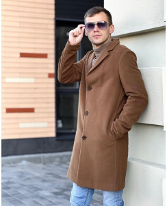 Мужское шерстяное пальто 7010-4