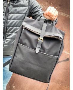 Мужской рюкзак Lumber черного цвета