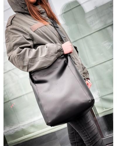 Черная женская сумка 655