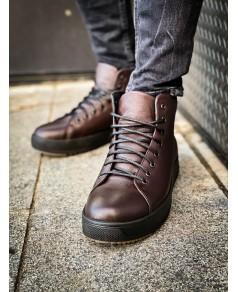 Чоловічі коричневі черевики 2002-02