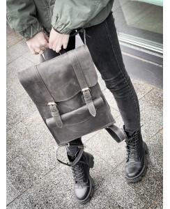 Серый женский рюкзак 510