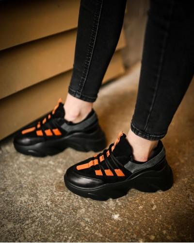 2507-28 черн-оранжевые