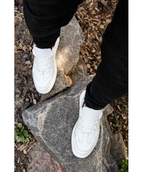 Кеды «ПЕРФОРАЦИЯ» белые